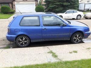 98 VW GTI VR6 [SALVAGE] for parts or rebuild