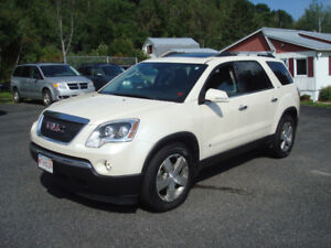 2010 GMC Acadia SLT - 3.6L V6 AWD 7 Passenger - Loaded - Nice!!