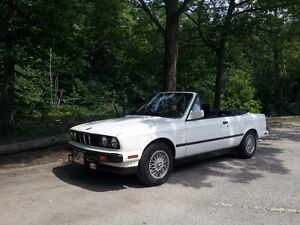 BMW 325I Convertible E30 1990 ( 325 IC décapotable )