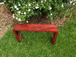 Jarrah Timber Garden Bench Seat