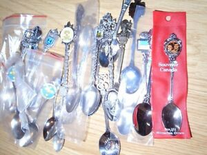 50 Silver Collector Spoons