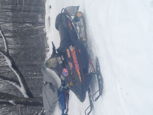 looking to trade my 97 skidoo Mach 1 700 tripple Peterborough Peterborough Area image 1