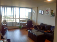 Amazing 17th floor (3 1/2) apartment in Plateau-Outremont