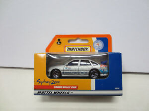 Matchbox Olympic Torch Relay 2000 car - new in box