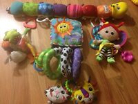 5 pcs Lamaze toys all for 20$