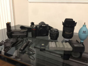 REDUCED! Nikon D80 set with 16-85 and more