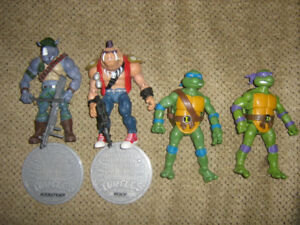 TEENAGE MUTANT NINJA TURTLES CLASSIC COLLECTION FIGURE LOT