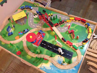 Imaginarium Train Table with lots of extras