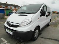 Vauxhall Vivaro - Camper Monkeys - Air Conditioning - Crew Cab