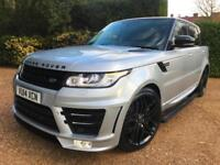 "2014.5 RANGE ROVER SPORT 3.0 SDV6 HSE 4x4 AUTOBIOGRAPHY LOOK 22"" ALLOYS"