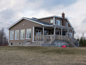 WATERFRONT PROPERTY HAS PANORAMIC VIEW OF THE RIVER!