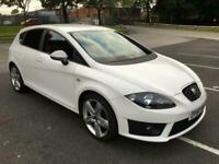 Seat Leon 2.0TDI CR 2010MY FR, MOT 25/08/2021~6 STAMPS SERVICE HISTORY~IN WHITE