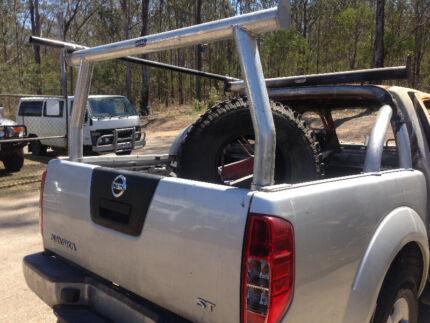 Brand New Tradesman Ladder Rack Set Nissan D40