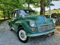 MORRIS MINOR 1000 Tourer / convertible, a very nice Morris with modern upgrades