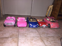 Barbie Cars and Motorcycle
