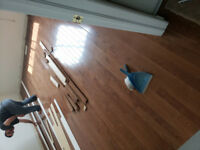 $0.69 Laminate Install Hardwood $0.99 sqft