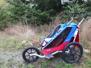 Chariot cheetah single bike carrier and jogging stroller