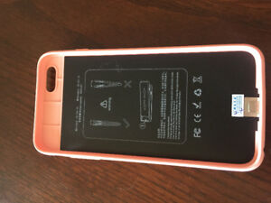 Brand new IPhone 6+ battery mophie case (PINK)