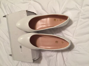 New White Bridal Shoes