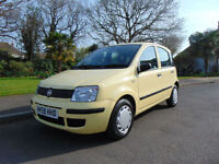 Superb 2009 Ultra Low Mileage Fiat Panda 1.1 Active ECO Full Service History