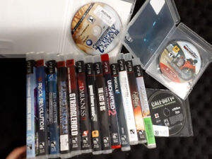Ps3 games GTA 5 last of us uncharted cod midnight club fallout