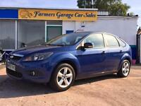 Ford Focus 1.6 ( 100ps ) 2008 Zetec In Blue