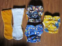 Star Trek and Penguin Overnight Diapers + Simpsons PD