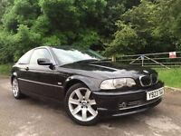 Bmw 330ci manual coupe black+1 former owner