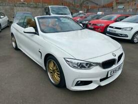 image for 2015 BMW 4 Series 2.0 428I M SPORT 2d 242 BHP Convertible Petrol Automatic