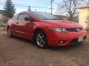 2008 civic Coupe -  5speed