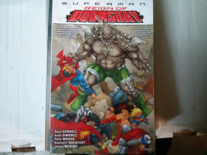 Superman Reign of Doomsday TPB comic $10