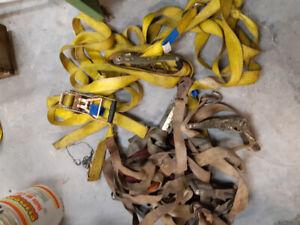 Heavy duty ratchet straps for sale