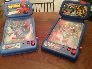 2 Table Top Pinball Machines:  BEST OFFER!!!