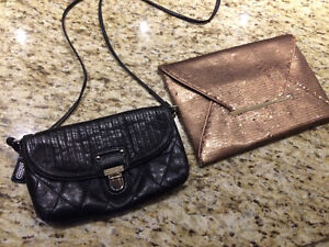 BCBG Envelope clutch Coach cross body bag