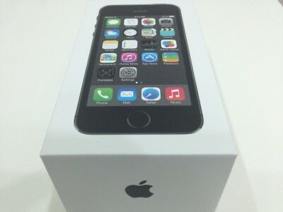 Apple iPhone 5s - 64GB - Space Grey (Unlocked) Sealed Box, Warranty, UK Spec
