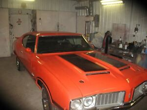 1970 olds w31 4 speed  rally red