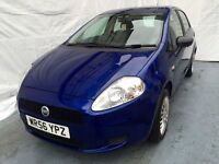 56 REG Fiat Grande Punto 1.2 Active 5dr,Low Mileage Only 59000,Lady Owner ,2 keepers,HPI Clear