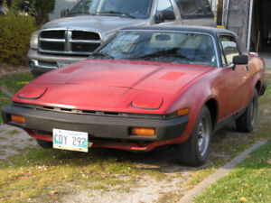 '77 TR-7 NEEDS SOMEONE TO FINISH IT