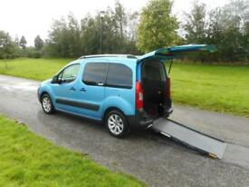 2011 Citroen Berlingo 1.6 Hdi 4 Seats WHEELCHAIR ACCESSIBLE ADAPTED VEHICLE WAV