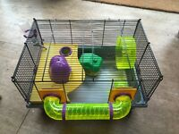 ROTOSTACK GENIUS 200 CAGE hamster gerbil mouse