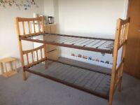 Vintage stacking children's beds