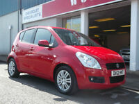 2012 SUZUKI SPLASH 1.2 SZ4,UPTO 5 YEARS 0% FINANCE AVAILABLE OR