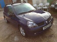 Renault Clio van cheap 295