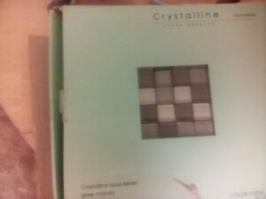 Crystalline glass mosaics .........TILES