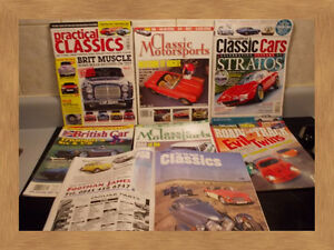 -----------------------OLDER CAR AND BIKER MAGAZINES