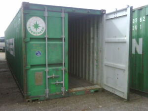 20ft & 40ft Steel Shipping Containers