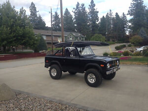 1971 Ford Bronco Convertible