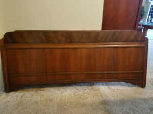 Antique double size bed frame.
