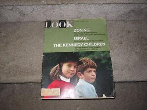 Vintage LOOK Magazine--1965--The Kennedy Children