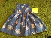 Next baby girl's beautiful dress age 18-24 months